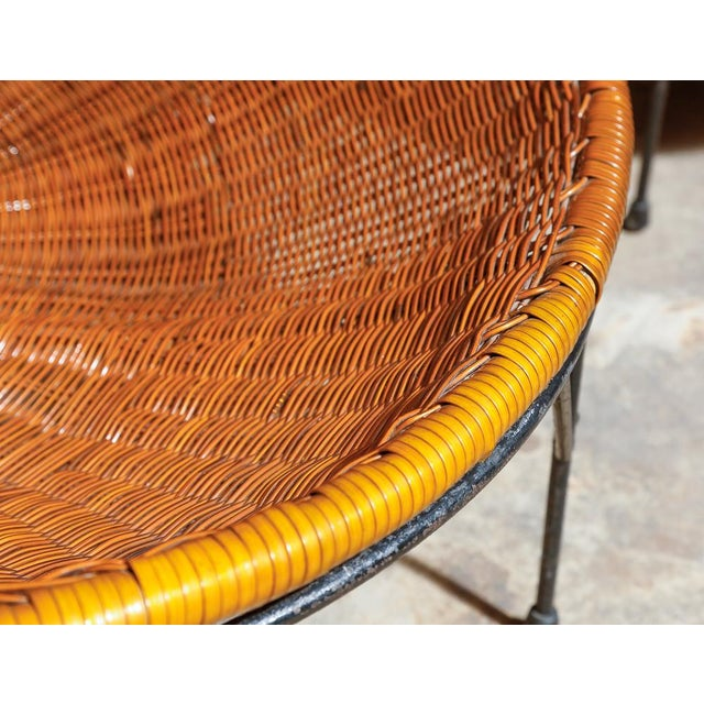 Rattan Hoop Lounge Chairs - A Pair - Image 4 of 5