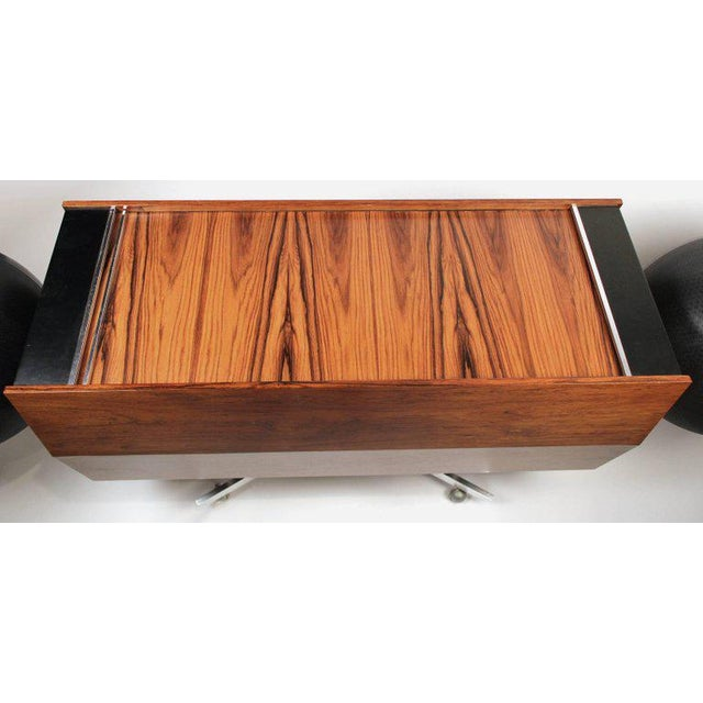 Mid-Century Modern Clairtone Project G-1 Model T10 Rosewood Stereo System For Sale - Image 3 of 11