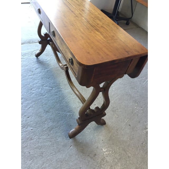 Beacon Hill Console Table Old Colony Collection #304 For Sale In San Francisco - Image 6 of 9