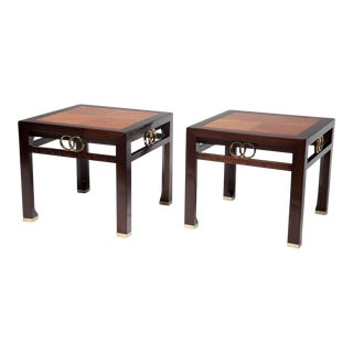 Michael Taylor for Baker Far East Occasional Tables - a Pair For Sale