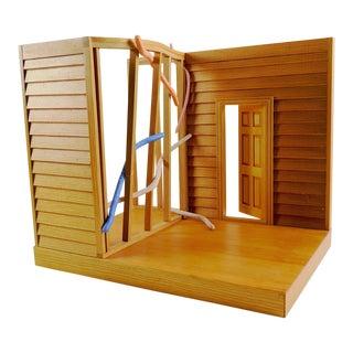 Eric Weller Wood House Sculpture