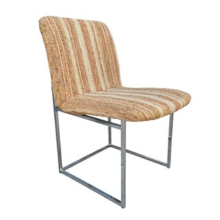 Milo Baughman Side Chair For Sale