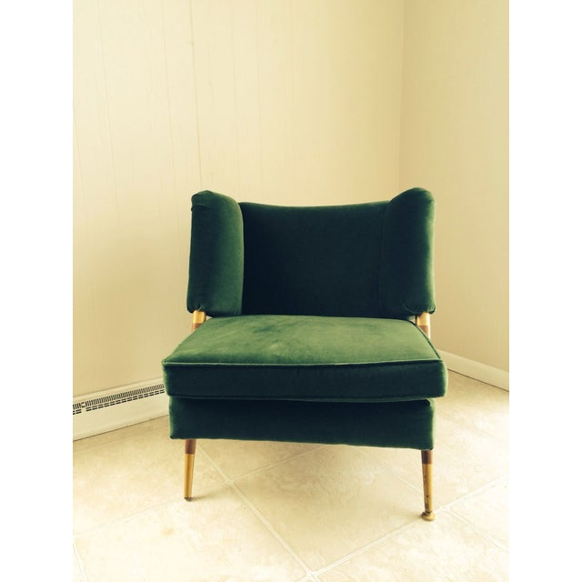 We are Green with Envy! This stunning Mid Century chair will make a beautiful addition to your home. It's sleek design and...
