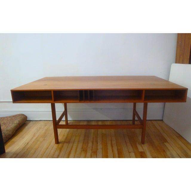 Dansk Lovig Flip-Top Teak Partners Desk or Table For Sale In Richmond - Image 6 of 10