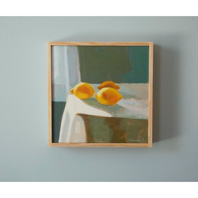Abstract Lemon Light by Anne Carrozza Remick For Sale - Image 3 of 6