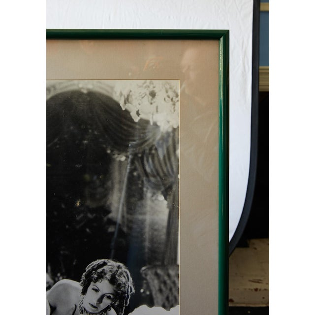"""Art Deco Photograph of Greta Garbo in """"Camille"""" 1936 by Clarence Sinclair Bull For Sale - Image 3 of 10"""