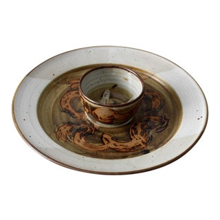 Vintage Don Hanson Studio Pottery Platter For Sale