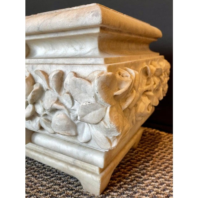 19th Century Marble Planter or Jardinière For Sale In New York - Image 6 of 13