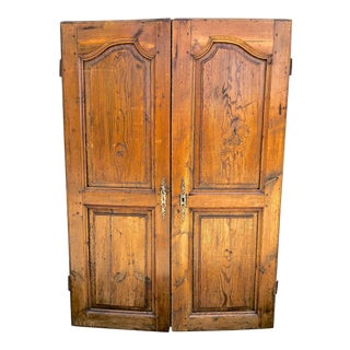 18th Century French Armoire Doors - a Pair For Sale