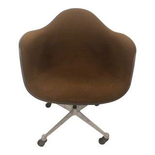 1970s Mid-Century Modern Charles Eames Chair for Herman Miller Office Chair For Sale