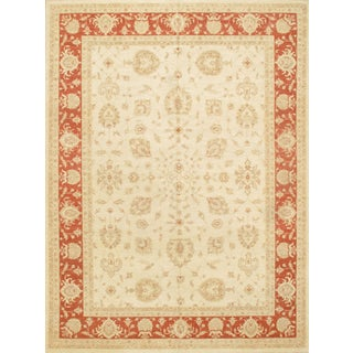 "Pasargad NY Hand-Knotted Farahan Rug - 9'7"" x 13' For Sale"