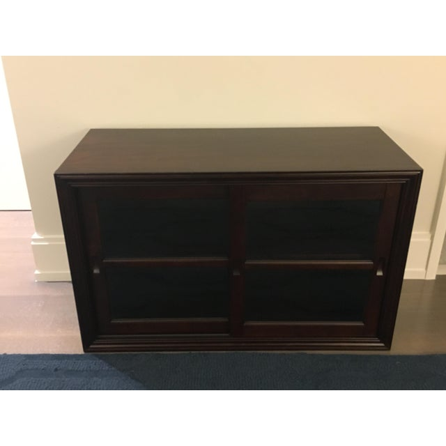 Pottery Barn Wooden 2-Door Cabinet With TV Stand - Image 2 of 6