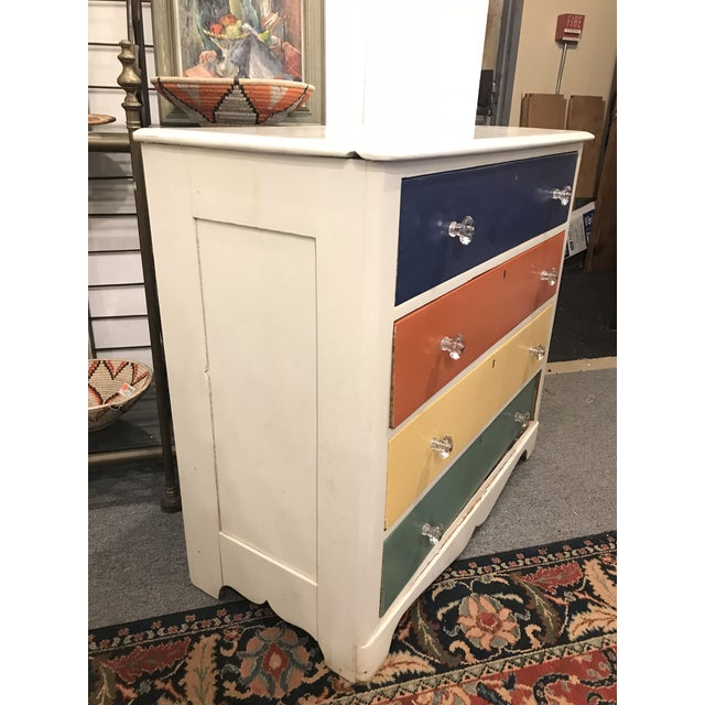 Art Deco 20th Century Americana Children's Chest of Drawers For Sale - Image 3 of 5