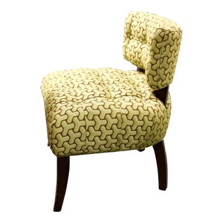 Upholstered Patterned Side Chair