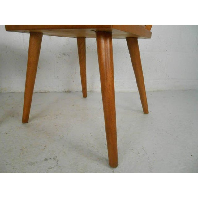 Leslie Diamond for Conant-Ball Mid-Century Chairs - Set of 4 For Sale - Image 10 of 11