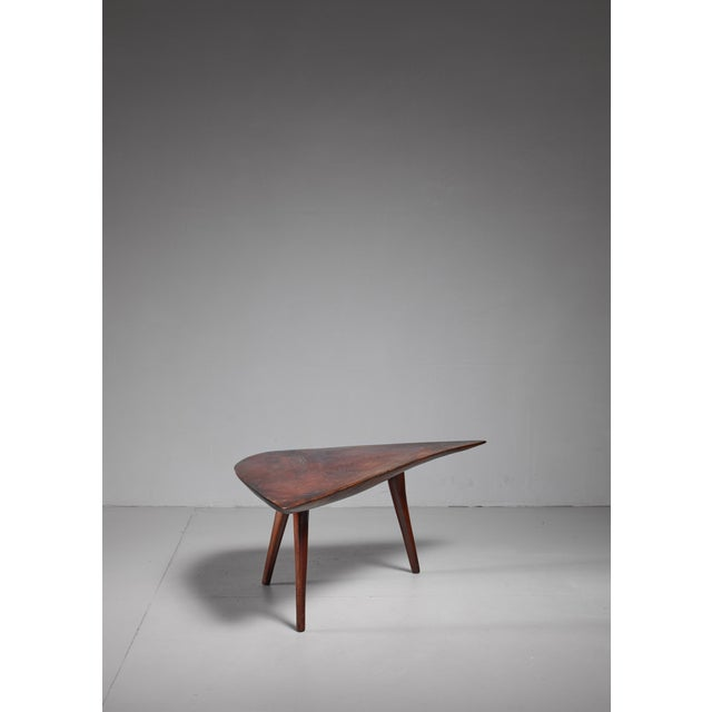 1960s Emil Milan Freeform root wood coffee table, USA, 1960s For Sale - Image 5 of 9