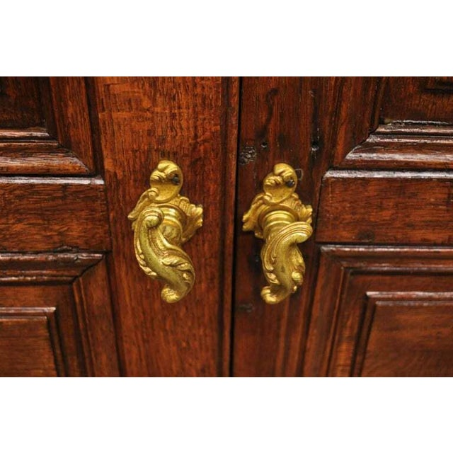 19th Century Antique French Louis XVI Style Carved Oak Interior Double Doors - Set of 2 For Sale - Image 5 of 13