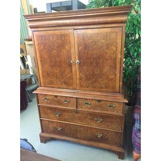 Vintage Century Furniture Company Burlwood Cabinet Preview