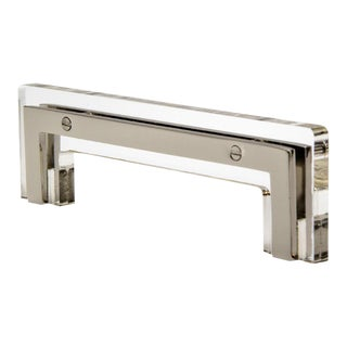 Nest Studio Collection Transparency-01 Polished Nickel Handle For Sale