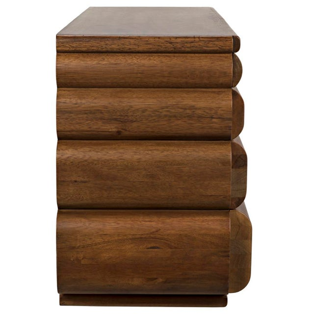 Wood Corinth Sideboard, Dark Walnut For Sale - Image 7 of 11