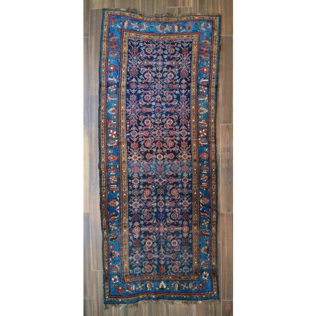 Antique Persian Hand Woven Runner- 3′10″ × 9′7″ - Image 2 of 11