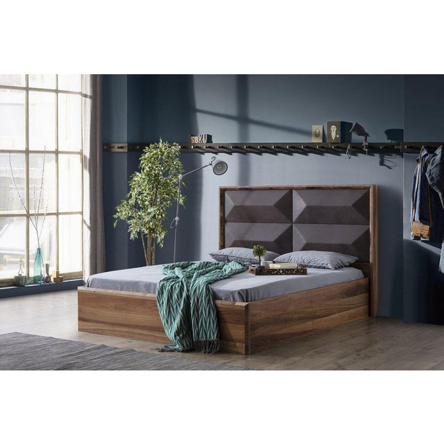 Statements By J Mario Upholstered Wood Bed - Image 3 of 5