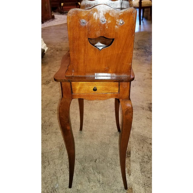 Wood 18th Century French Country Cherrywood Side Table For Sale - Image 7 of 10