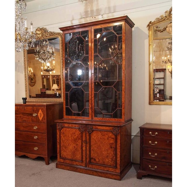 Antique English Bookcase For Sale - Image 9 of 10