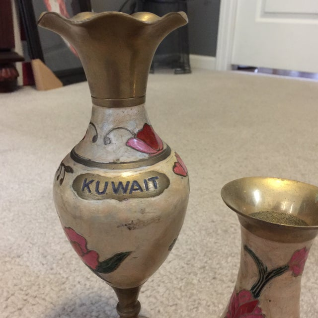 Kuwait Vases - Pair - Image 3 of 7