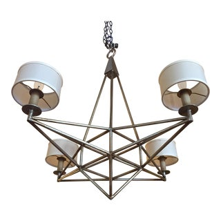 Fine Art Lamps Modern Metal Chandelier For Sale