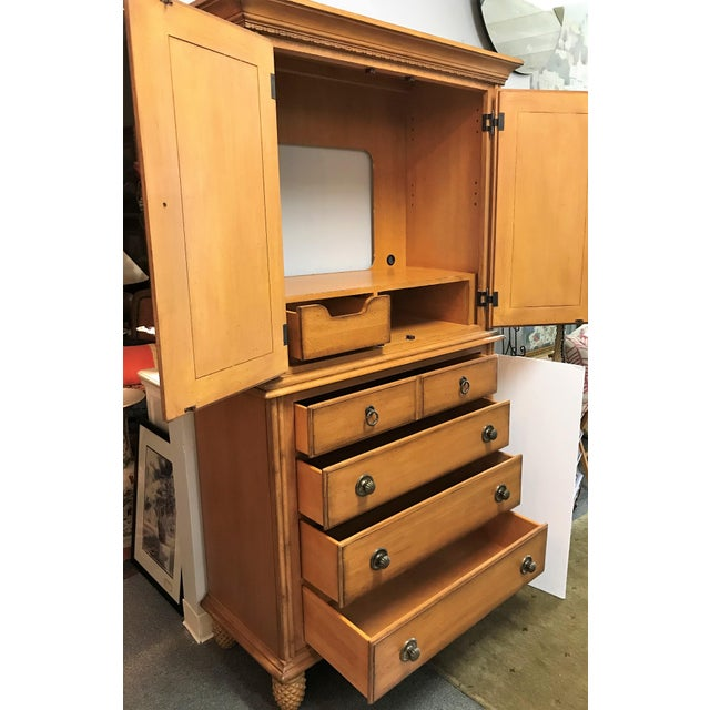 Tommy Bahama for Lexington Furniture Solid Wood Armoire ...