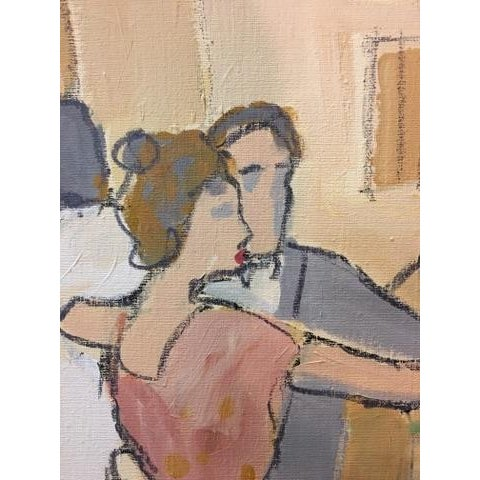 "Original ""Vintage Wine"" Painting by Isaac Maimon - Image 6 of 11"