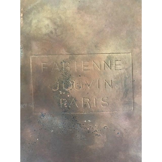 Large Cloisonne Canister by Fabienne Jouvin Paris - Image 6 of 7