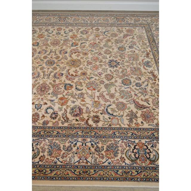 """Textile Karastan 8'8"""" X 10'6"""" Tabriz Room Size Rug Carpet For Sale - Image 7 of 12"""