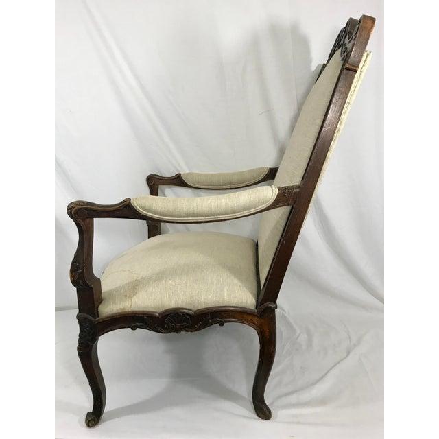 Italian 19th Century Walnut Chair For Sale - Image 3 of 6