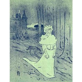 1966 Mourlot Toulouse Lautrec La Chatelaine Lithograph 19 For Sale