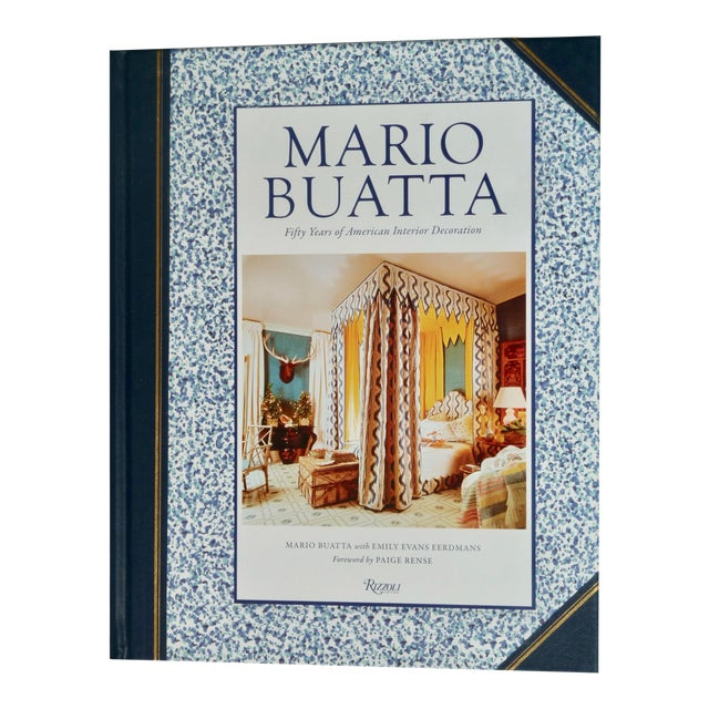 Mario Buatta, Interior Decorator Book For Sale
