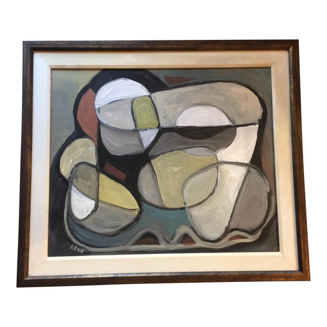 Original Abstract Painting by Stewart Ross For Sale