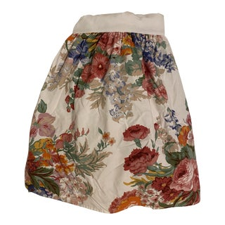 Ralph Lauren Home Beach House Floral Twin Bed Skirt For Sale