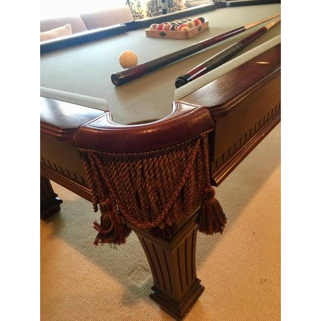 Brunswick Kendrick Pool Table Chairish - 6 ft brunswick pool table