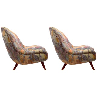 Pair Ernst Schwadron Club Chairs For Sale