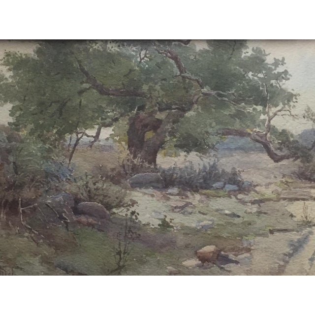 Plein Air Watercolor Painting by Elmer Wachtel For Sale - Image 5 of 10