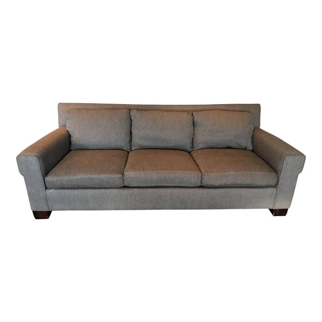 Henredon for Ralph Lauren Gray Penthouse Sofa (2006) - Image 1 of 3