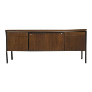 Rosewood Steel Office Credenza