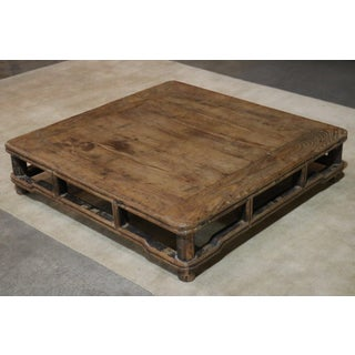 19th Century Chinese Square Elm Kang Table Preview