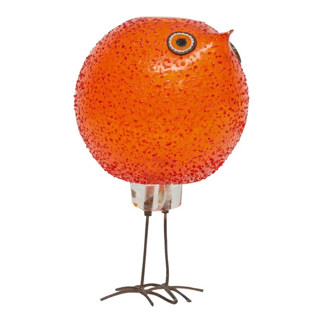 """Alessandro Pianon for Vistosi """"Pulcini"""" Glass Bird Sculpture For Sale"""