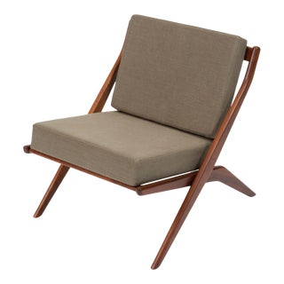 "Folke Ohlsson for Dux ""Scissor"" Lounge Chair For Sale"