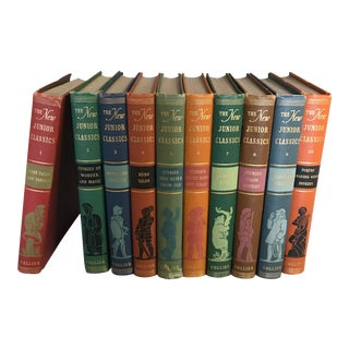 """The New Junior Classics"" Books - Set of 10 For Sale"