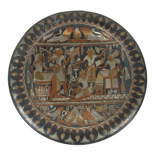 Egyptian Hanging Platter Tray For Sale