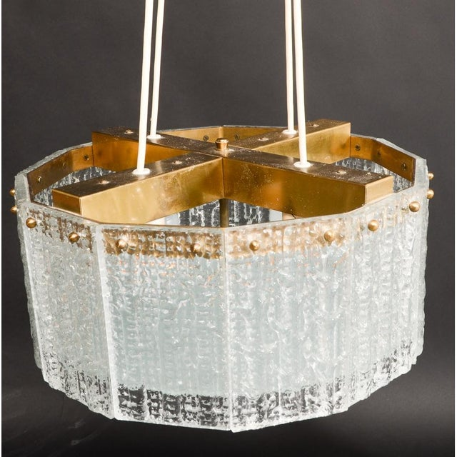 Carl Fagerlund for Orrefors Chandelier - Image 3 of 8